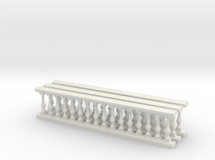 Baluster 01. 1:24 Scale 3d printed