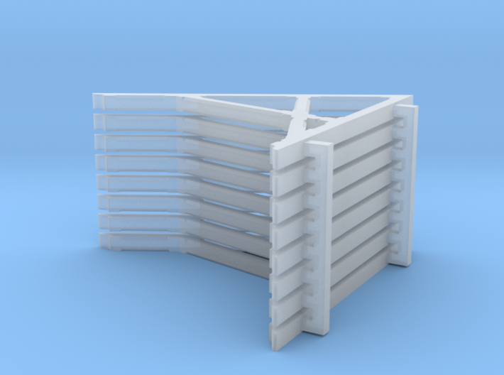 HO Leadville Freight House Roof Brackets 3d printed