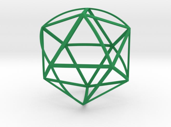 Walsh Icosahedron 3d printed