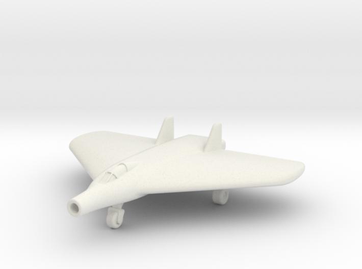 (1:200) Lippisch Delta VI with Lorin Ramjet 3d printed