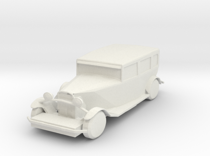 O Scale Packard 3d printed This is a render not a picture