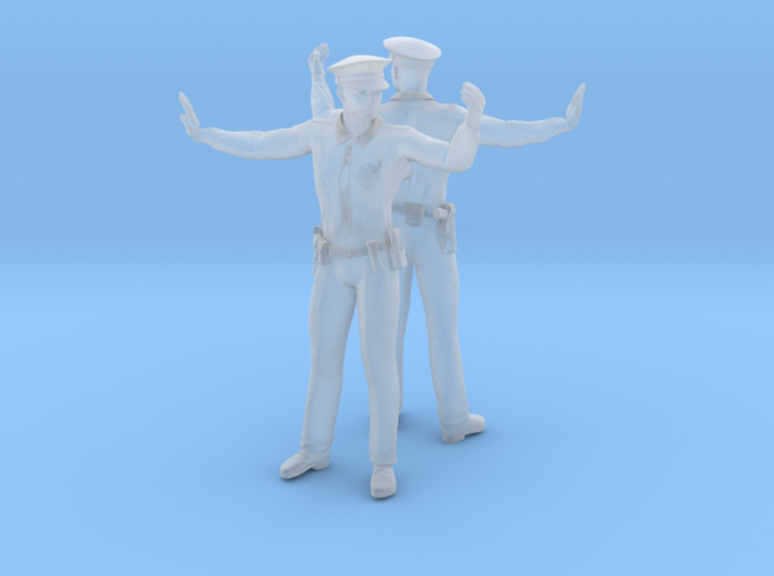 Officer Directing Traffic 3d printed