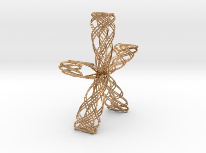 Rose Jewel Pendant(2) 3d printed