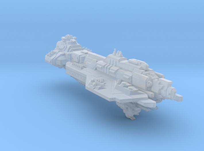 UNSC battlecruiser Hope`s defiance(custom) 3d printed