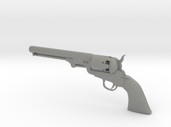 Colt 1851 1/9 scale 3d printed
