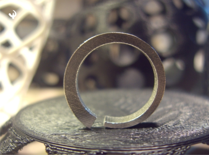 Rog Ring 3d printed