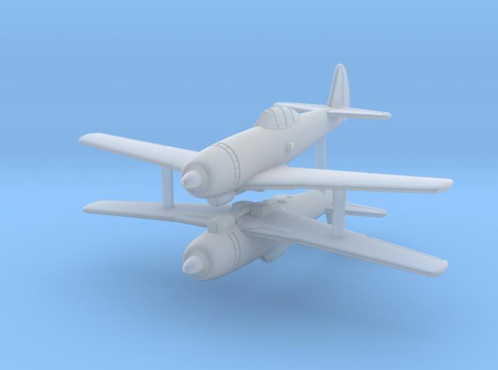 1/285 (6mm) Tachikawa Ki-94 II (x2) 3d printed