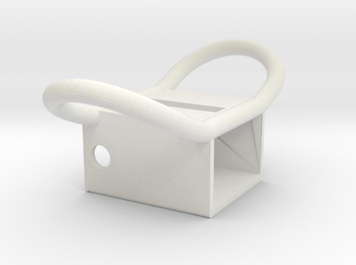 Apollo A7L Lower Torso PLSS Strap Attachment Brack 3d printed