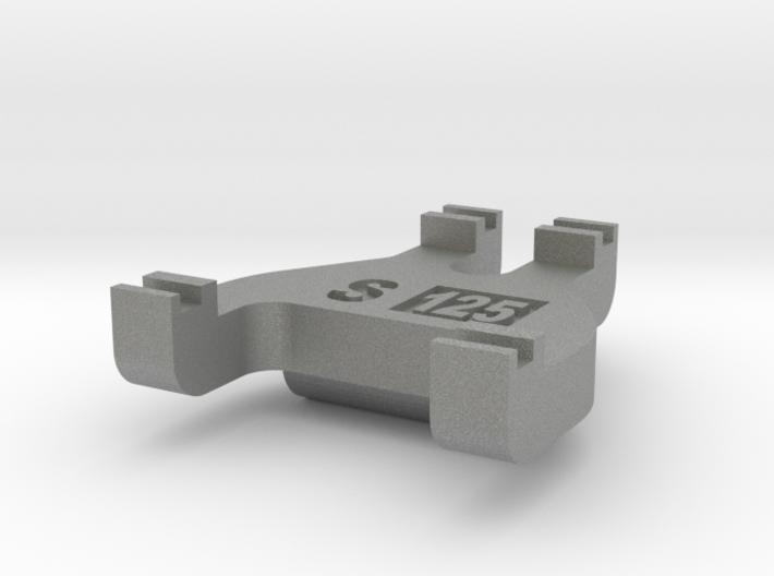 S Scale Track Gauge - Code 125 3d printed