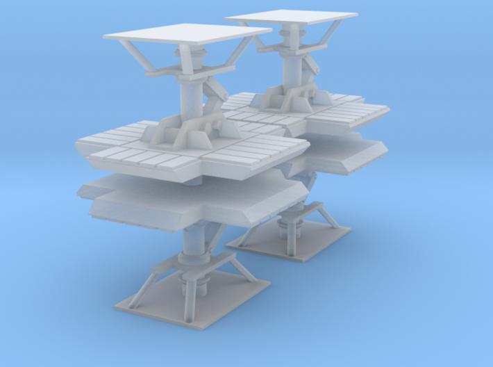 SPACE 2999 EAGLE AIRFIX 1/93 LANDING GEAR LEGS 3d printed