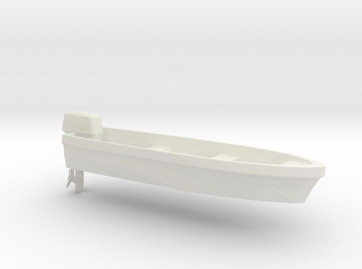 Printle Thing Boat & Motor - 1/24 3d printed