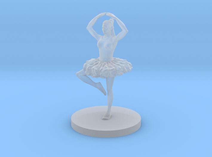 Female Ballerina 3d printed