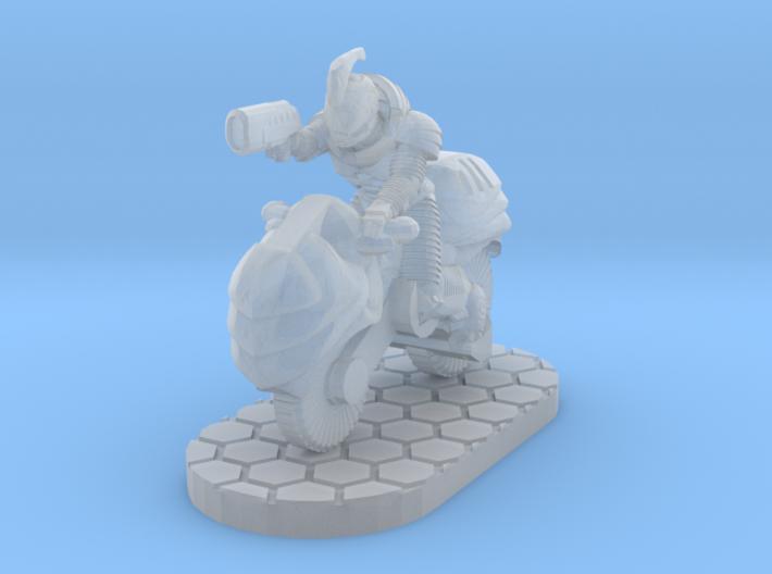 Dawnrider 28mm Scale Miniature 3d printed