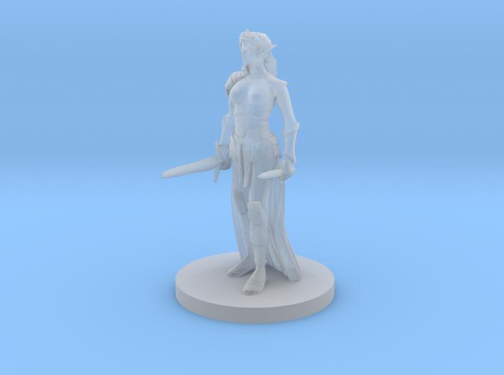 Elf Female Princess Rogue 3d printed
