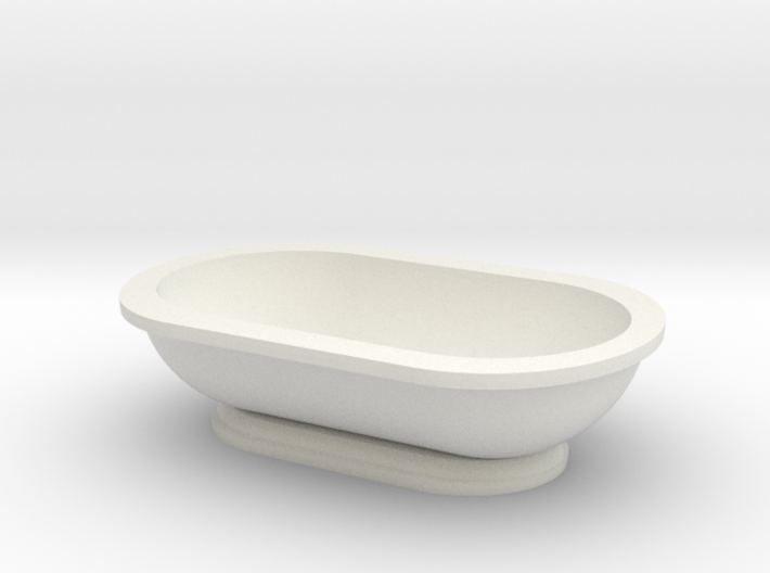 Scale Model Modern Bathroom Tub 3d printed