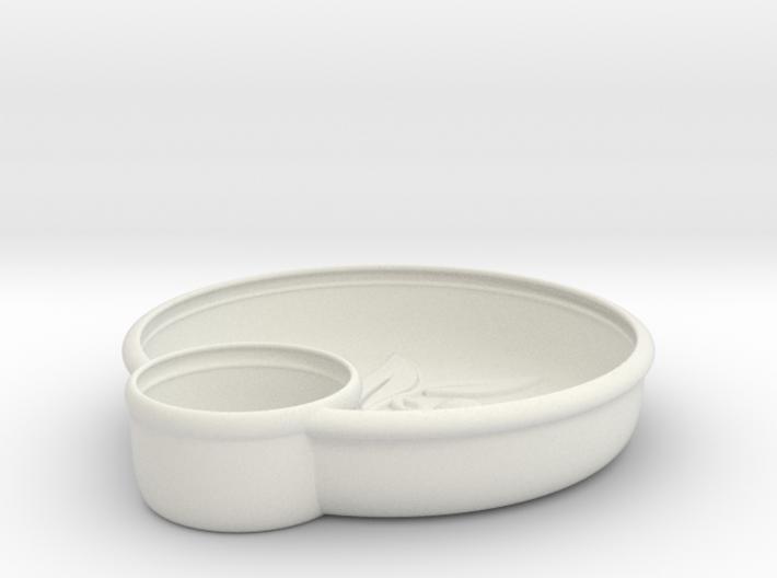 Olives Dish 3d printed