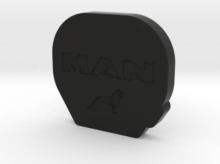THM 00.0082 Cover Tamiya fifth wheel MAN 3d printed