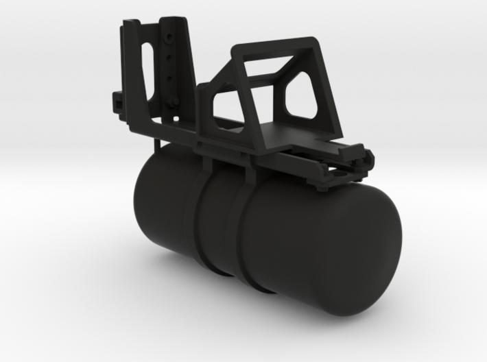 THM 00.1036 Air reservoir + wheel chock holder 3d printed