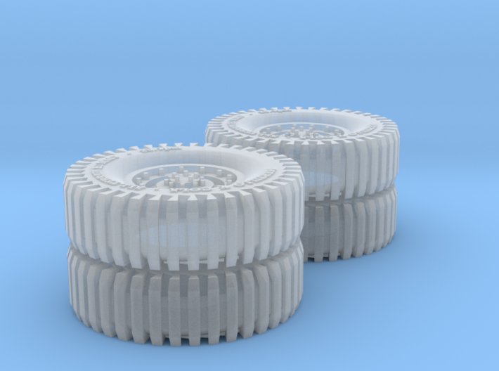 All Terrain Wheels double axle x2 #3 3d printed