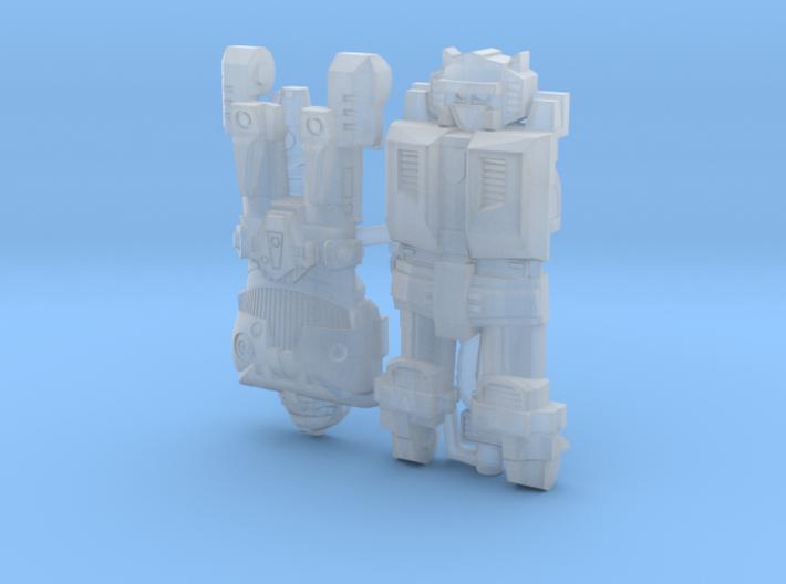 WaveriderBabygrand 3d printed