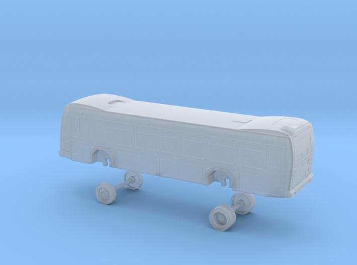 N Scale Bus Gillig BRT Westcat 160s 3d printed