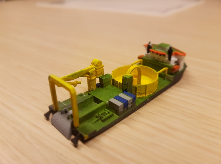 Ndurance Cable Laying 3d printed