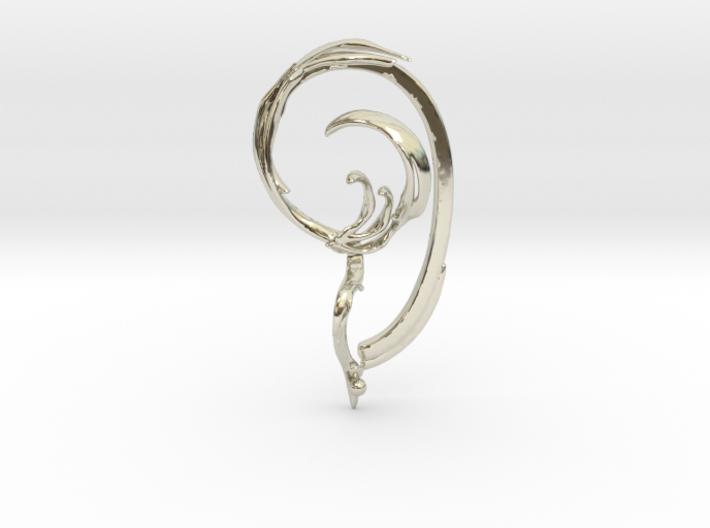 Fullcircle Earbone 3d printed