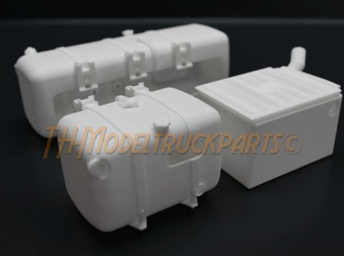 THM 00.3109-TR Fuel tank right Tamiya Actros 3d printed