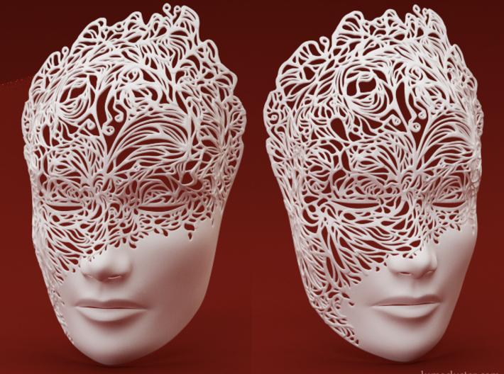 Dreamer Mask: Breakthrough (SMALL) 3d printed