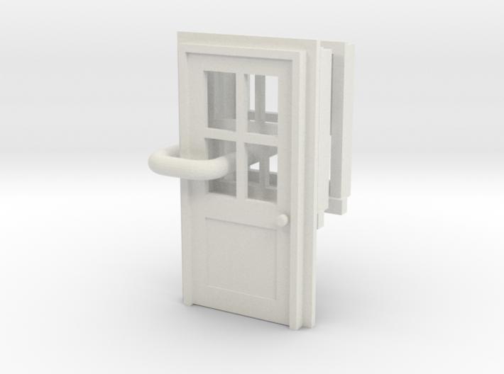 sittingbourne door and windows OO Scale 3d printed