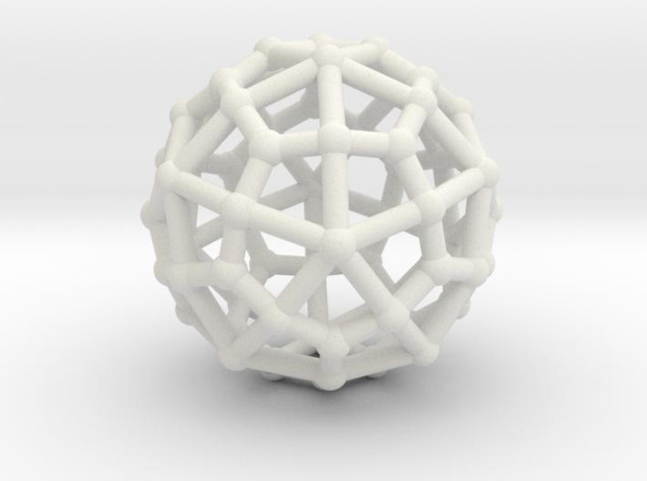 Deltoidal hexecontahedron MEDIUM 3d printed