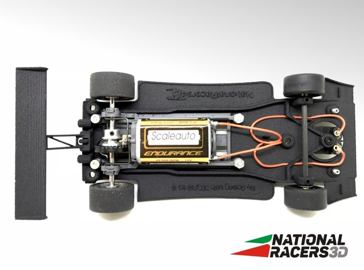 3D Chassis - Fly Racing Lola B98/10 (Inline) 3d printed