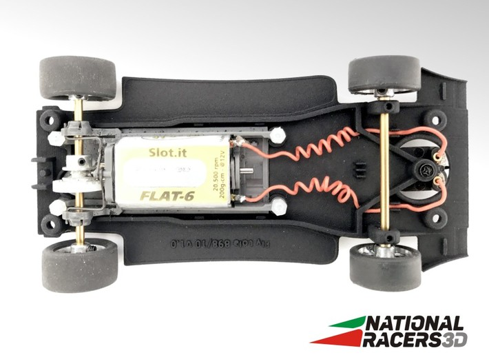 3D Chassis - Fly Lola B98/10 - Inline 3d printed