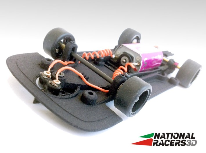 3D Chassis - FLY Ferrari F40 (Combo) 3d printed