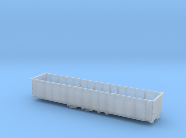 N scale Battleship Gondola 3d printed