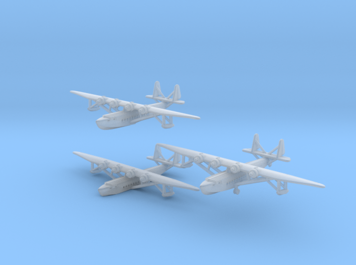 Sikorsky S42 Set of Three 3d printed