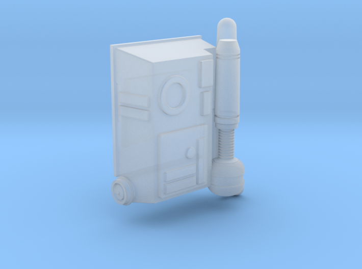 ARC trooper backpack for 3.75 inch figures 3d printed