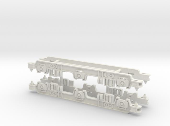 Gauge 1 LMS 10000 Bogies 3d printed