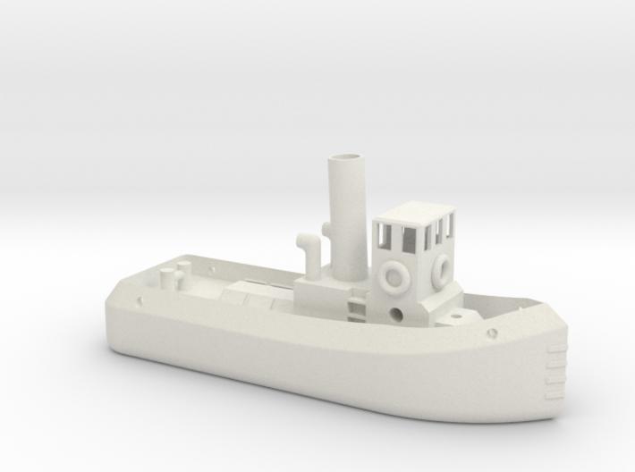 N gauge Steam Tug 3d printed