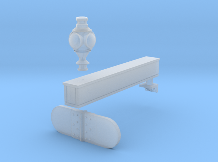HO Great Northern Swift Train Order Board 3d printed Smooth Fine Detail Plastic