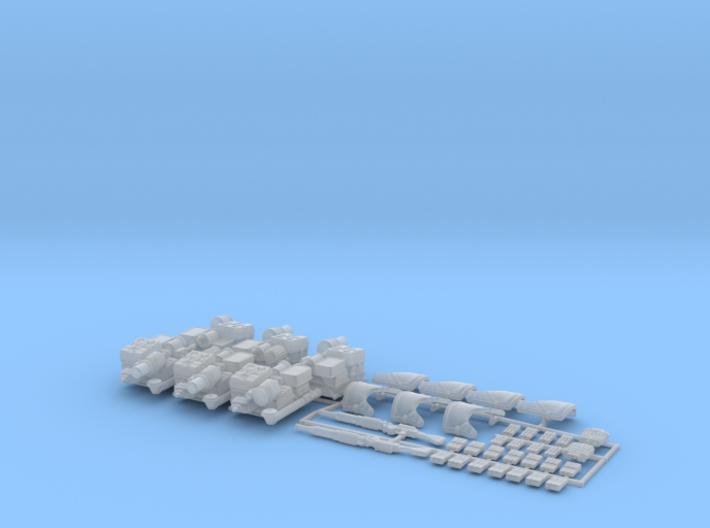 Sandy Searchers Kit 3d printed