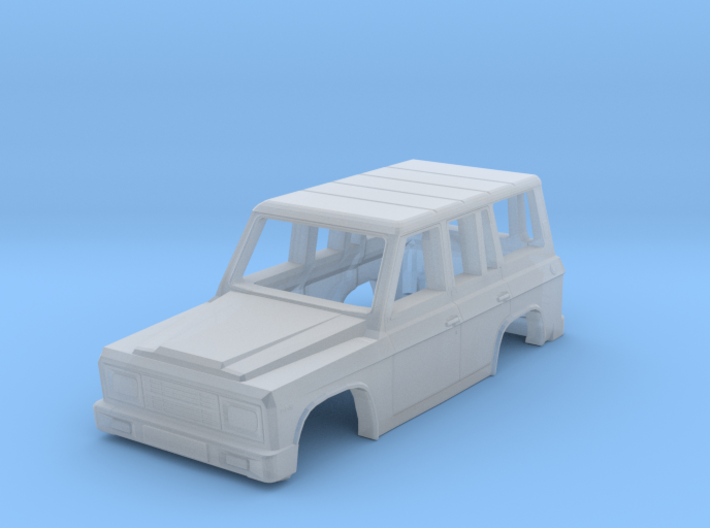 Body of ARO 244 Romanian SUV Scale 1:120 3d printed
