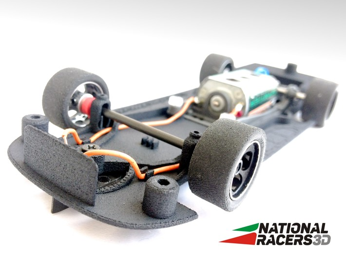 Chassis - SCX DODGE CHARGER 2006 (Combo) 3d printed