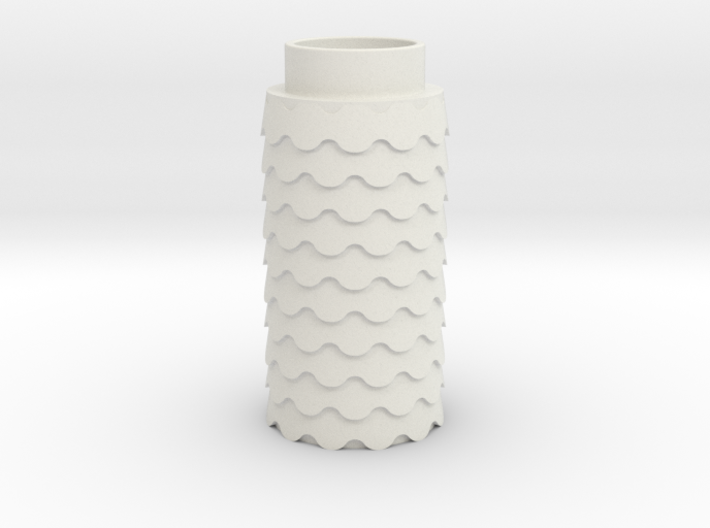 Scalloped 3d printed