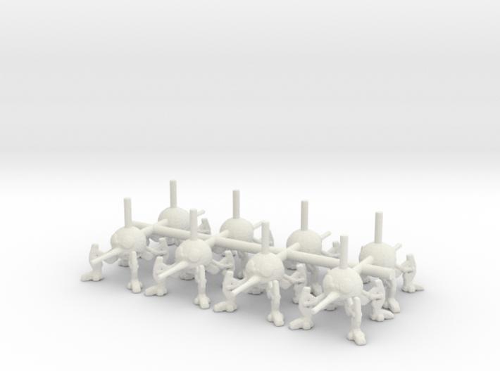 6mm DSD1 Spider Robot 3d printed