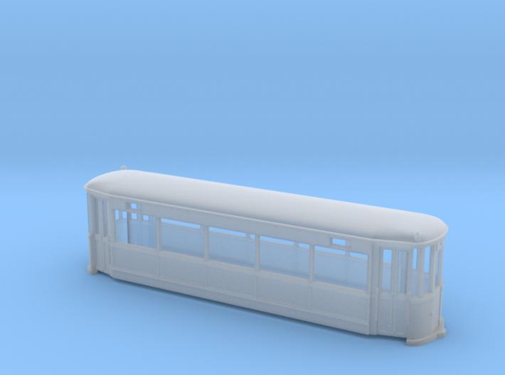Beiwagen 891-892 Rheinbahn ex NBM, Gehäuse 3d printed