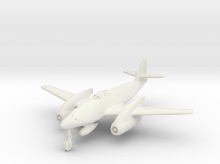 (1:144) Messerschmitt Me 262 Langrumpf 3d printed