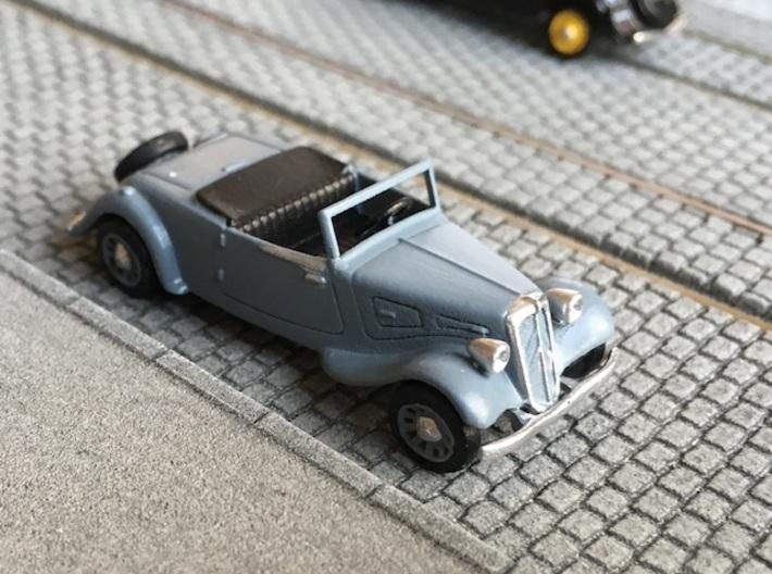 Citroen Traction roadster 1934 - Ho 1:87 3d printed