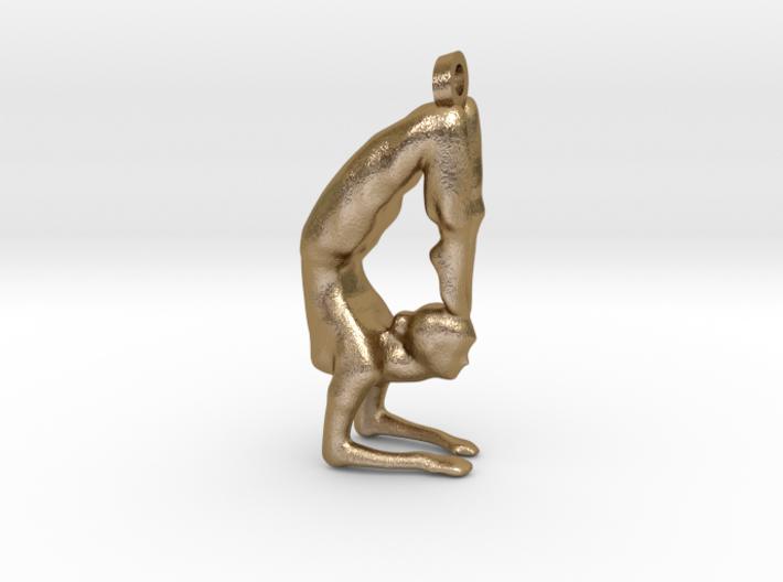 yoga jewelry - Vrischikasana 3d printed