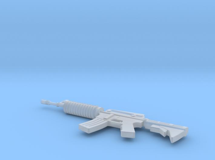 Miniature M60 Machine Gun 3d printed
